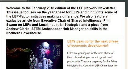 LEP Network newsletter - February 2018