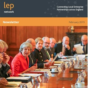 February Newsletter - the second PM Council of LEP Chairs.