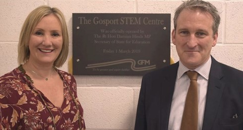 Education Secretary opens LEP backed STEM Centre that will train thousands.
