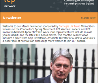 "March Newsletter - a ""deal dividend"" in the making?"