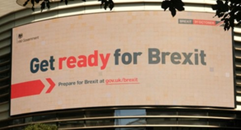 "Government launches ""Get Ready for Brexit"" campaign"