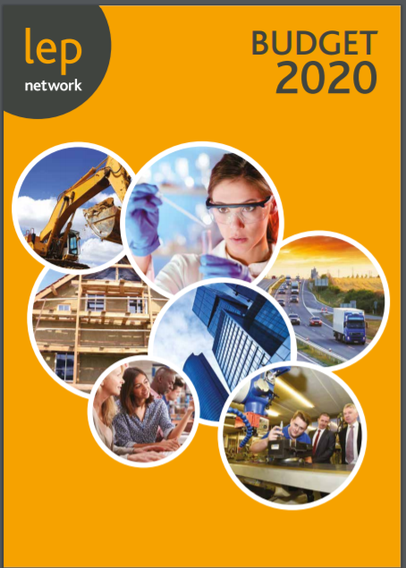 LEPs set vision for Budget 2020 and beyond