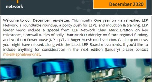 LEP Network newsletter December 2020